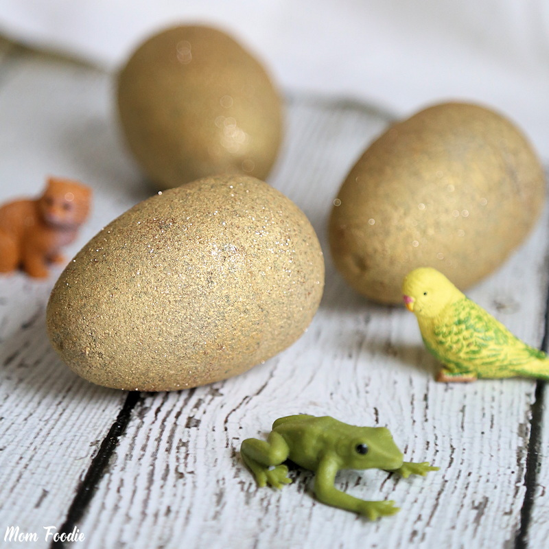 DIY Toy Surprise Inside Golden Egg Bath Bomb