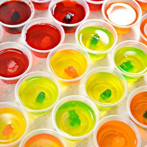 keto sugar free jello shots