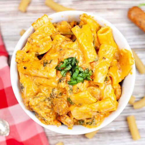 Instant Pot Kielbasa Pasta Recipe