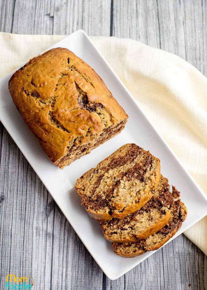 chocolate swirl banana bread