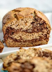 Marbled Banana Bread recipe