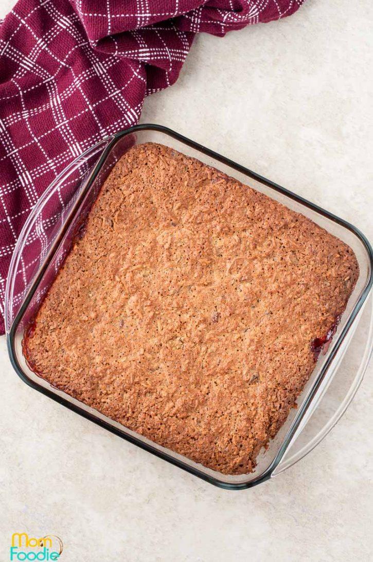 Bake the Raspberry Coconut Bars