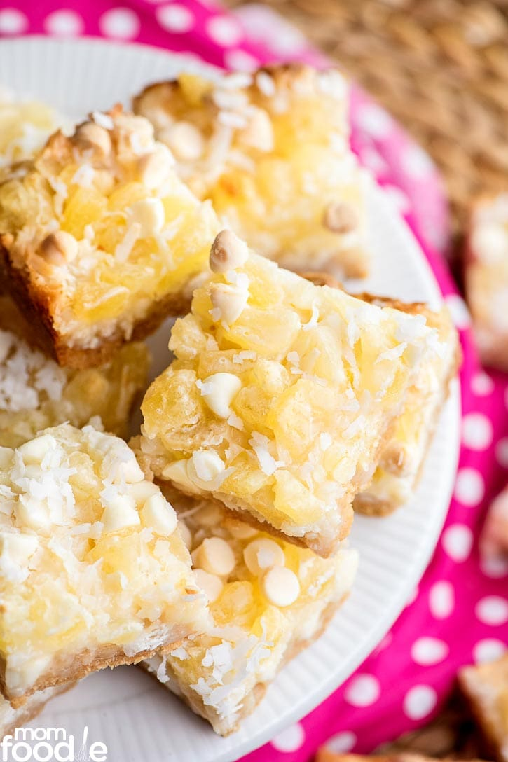 Hawaiian Magic Cookie Bars