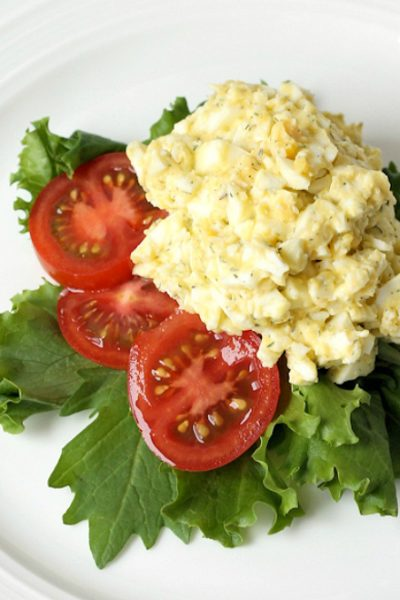 Easy Egg Salad with Dill Recipe