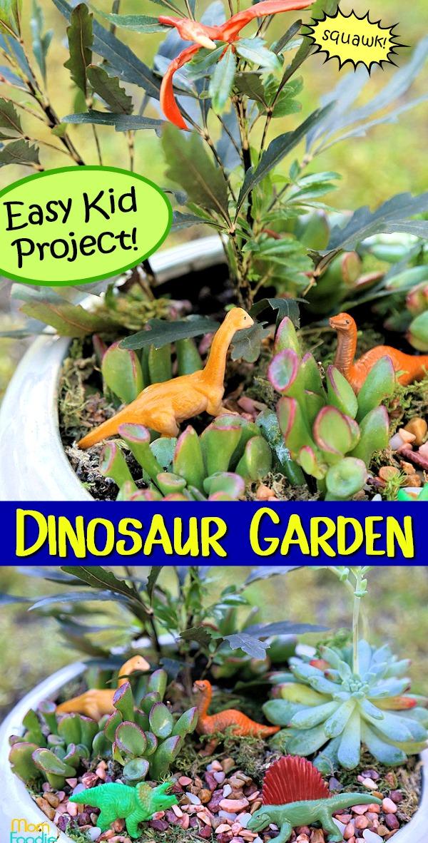 Dinosaur Garden Kids Activity