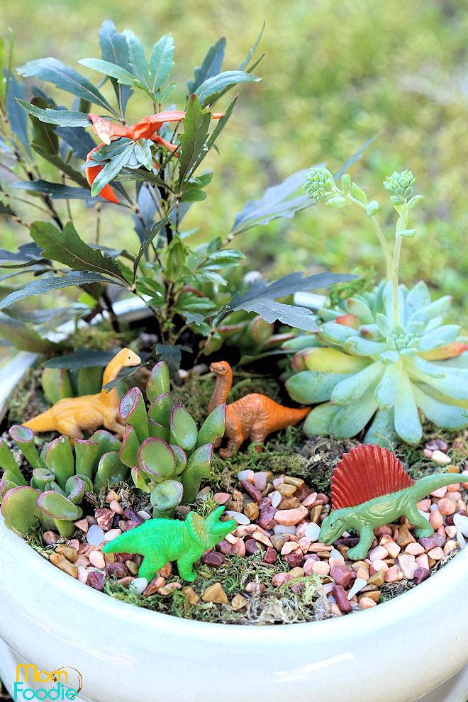 Dinosaur Planter Garden