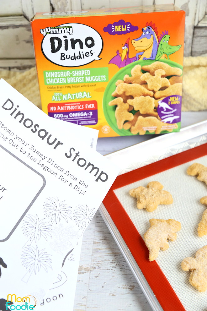 Dinosaur activity lunch