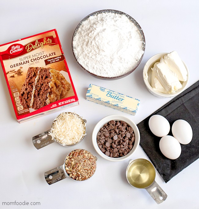Earthquake cake ingredients