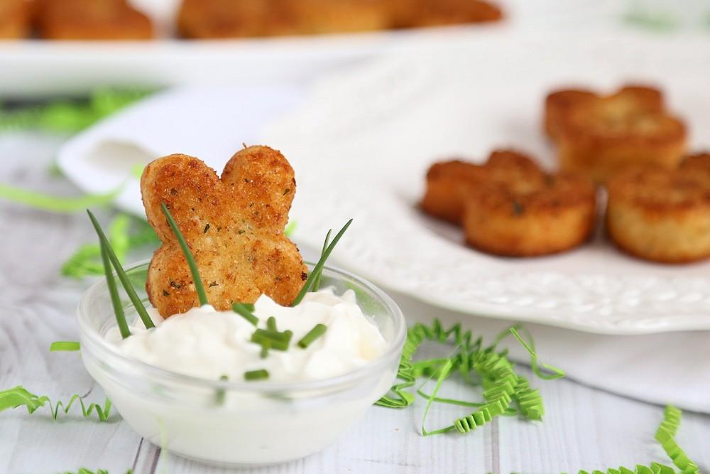 Easter Bunny Potato Croquettes Recipe