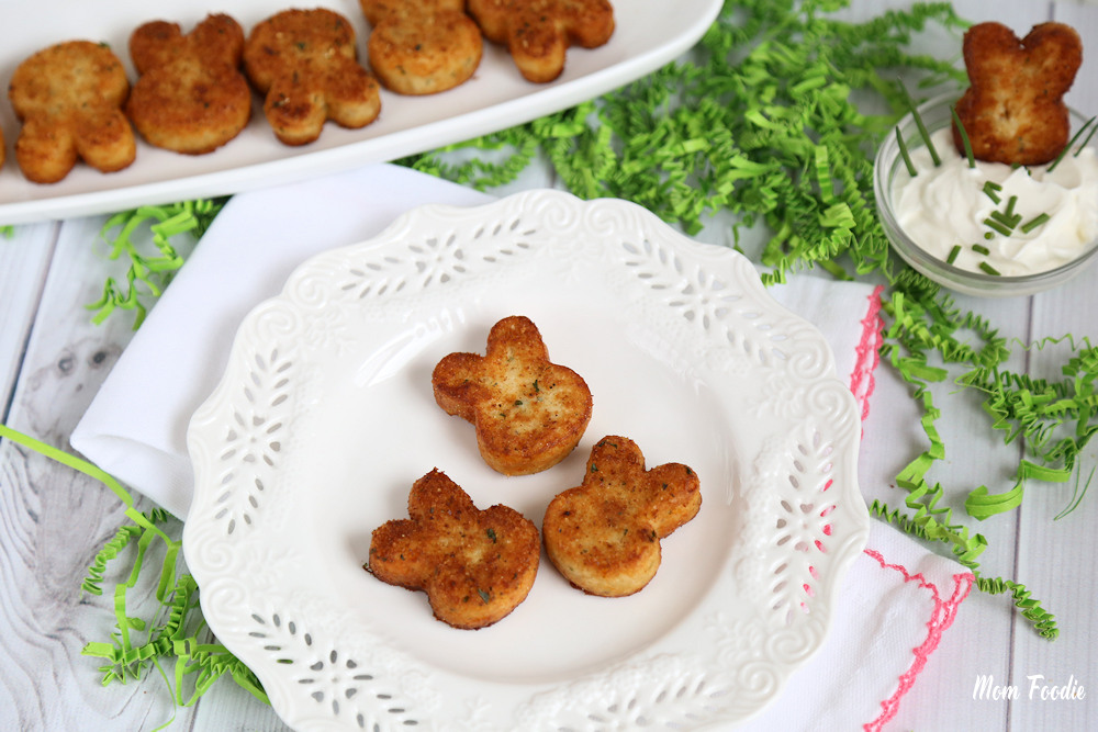 Easter Bunny Potato Croquettes