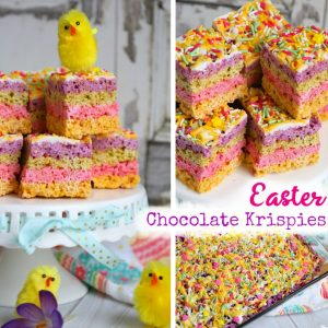 Easter Chocolate Krispies
