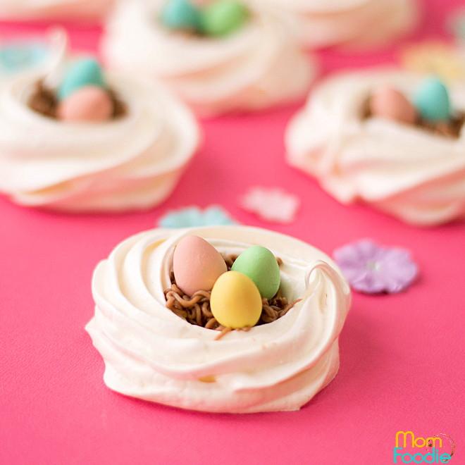 Easter Meringues