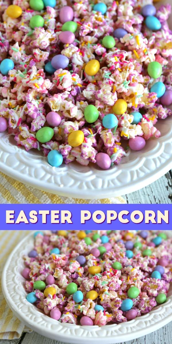 Easter Popcorn Pinterest