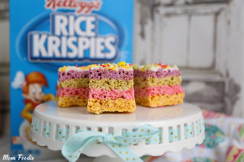Easter Rice Krispie Bars
