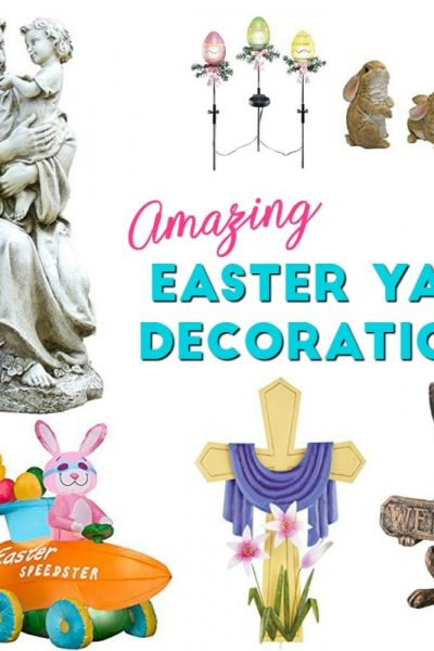 Amazing Easter Yard Decorations that Make Your Home Inviting