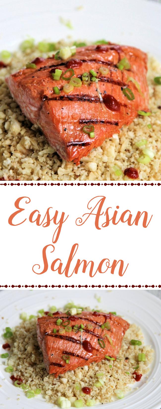 Easy Asian Salmon