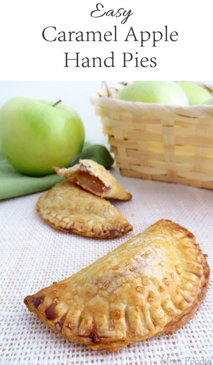 Easy Caramel Apple Hand Pies