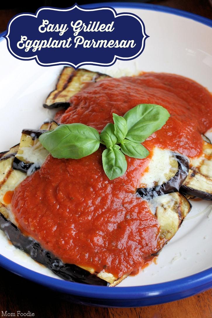 Easy Grilled Eggplant Parmesan Recipe