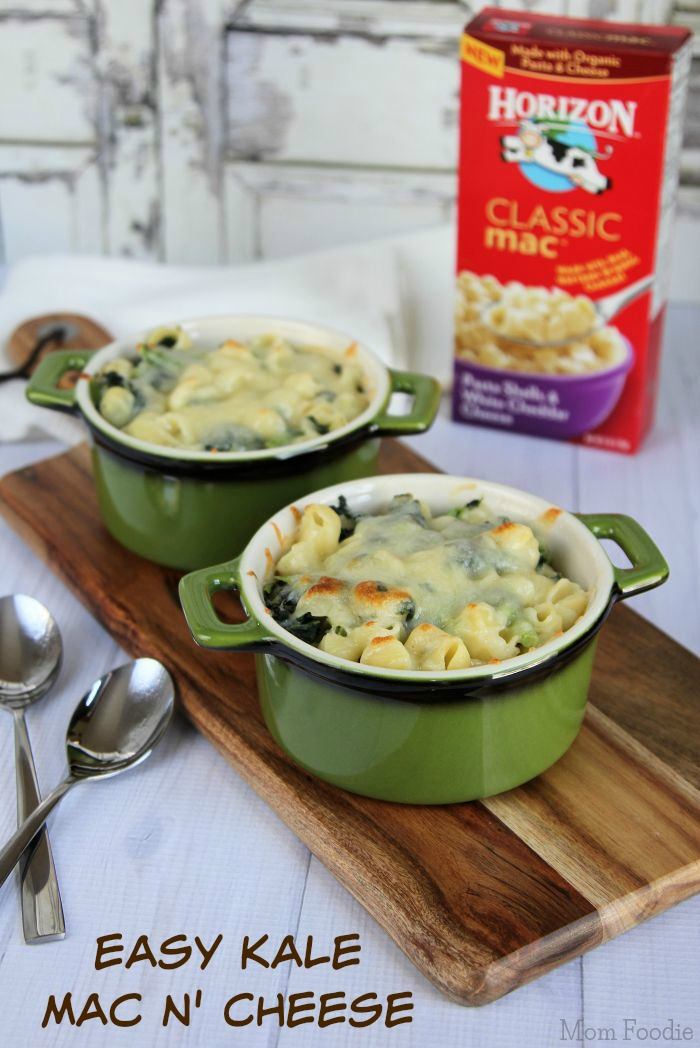 Easy Kale Macaroni & Cheese