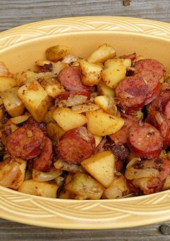 Easy Kielbasa and Potatoes Recipe