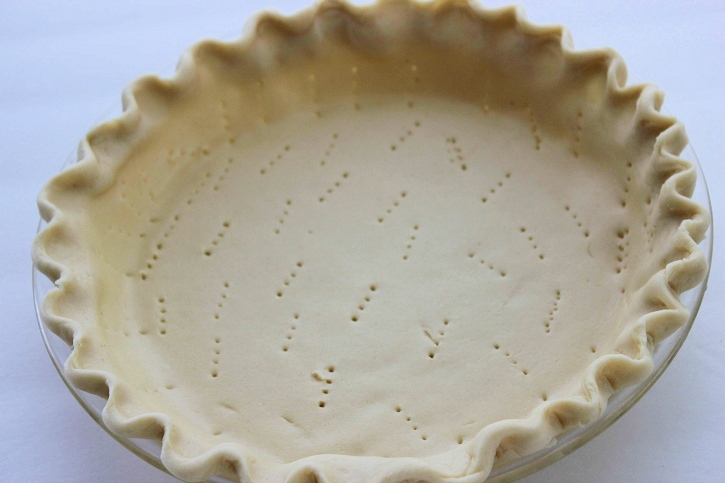 Easy Strawberry Pie Recipe crust