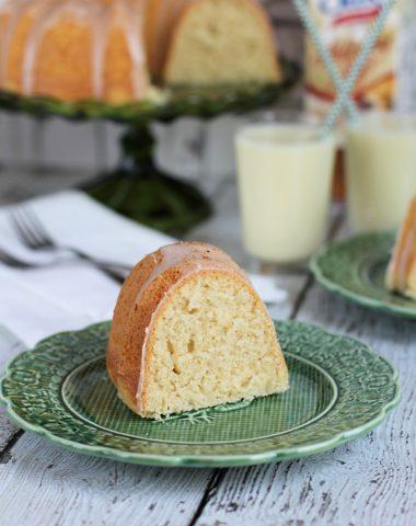 Eggnog Bundt Cake Recipe - dairy free