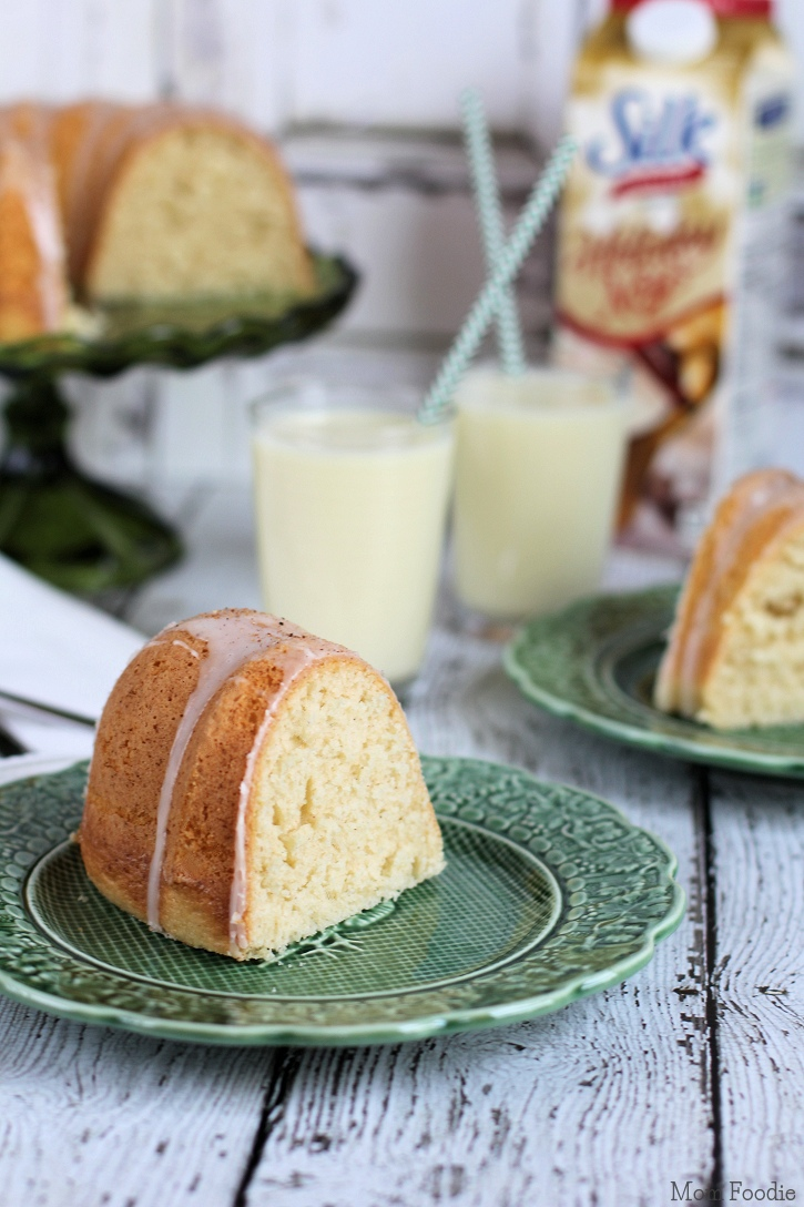 Eggnog Bundt Cake - Non-dairy recipe