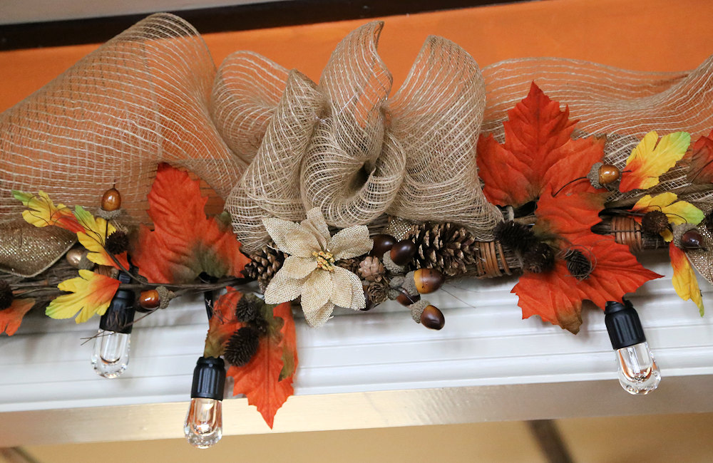 Fall Cinnamon Broom Garland