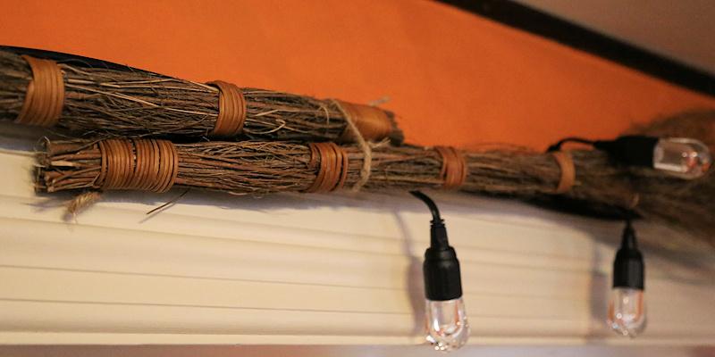 Fall Garland binding Cinnamon Brooms
