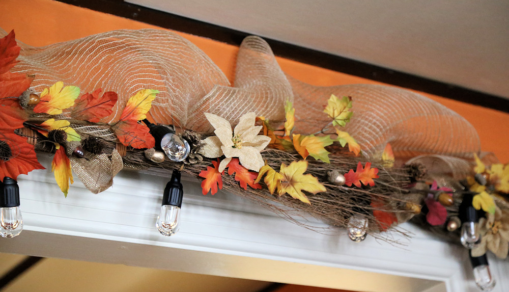 Fall Garland for Doorway