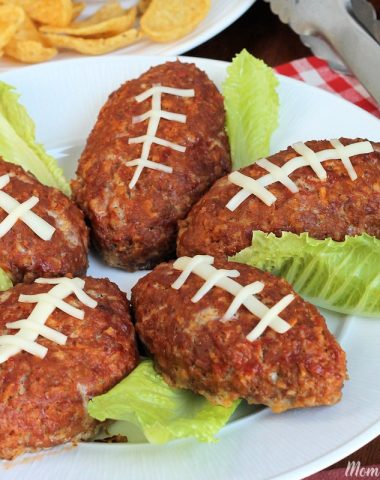 Football Mini Meatloaf Recipe