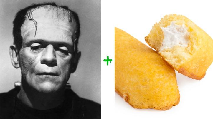 Frankenstein + Twinkie