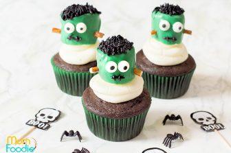 Frankenstein Marshmallow Cupcakes
