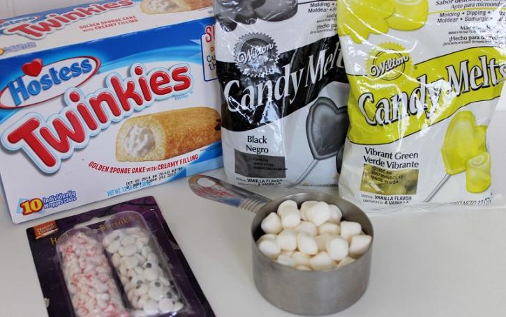 Frankenstein Twinkies Ingredients
