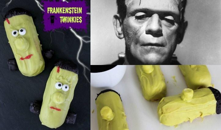 Frankenstein Twinkies collage