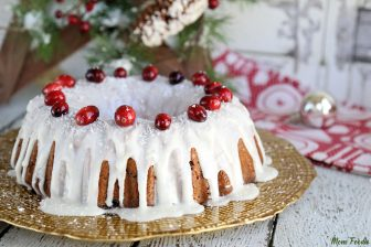 Fresh Cranberry Cake Recipe Sour Cream Bundt Cake
