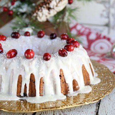 Fresh Cranberry Cake Recipe Sour Cream Bundt Cake