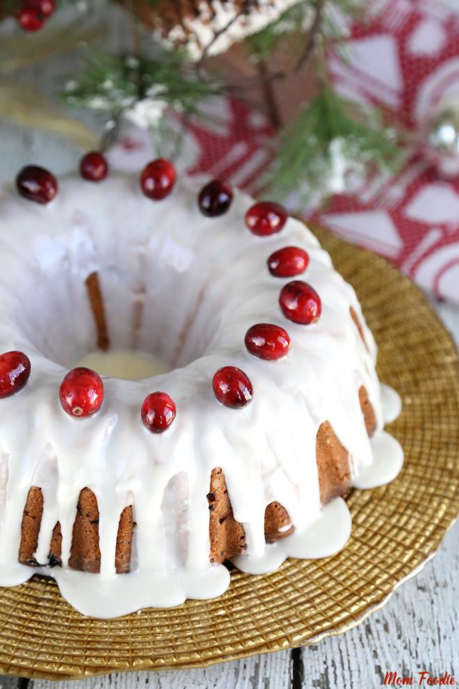 Fresh Cranberry Cake Recipe