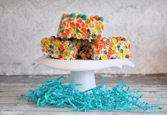 Fun & Fruity Puffs Krispie Treats