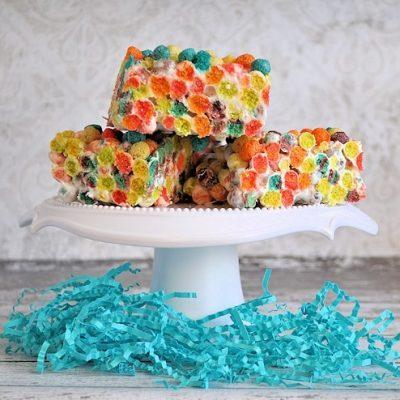 Fun & Fruity Puffs Krispie Treats