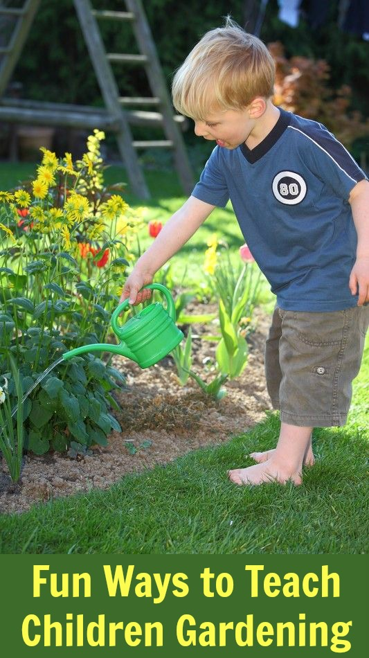 Fun Ways to Teach Children Gardening