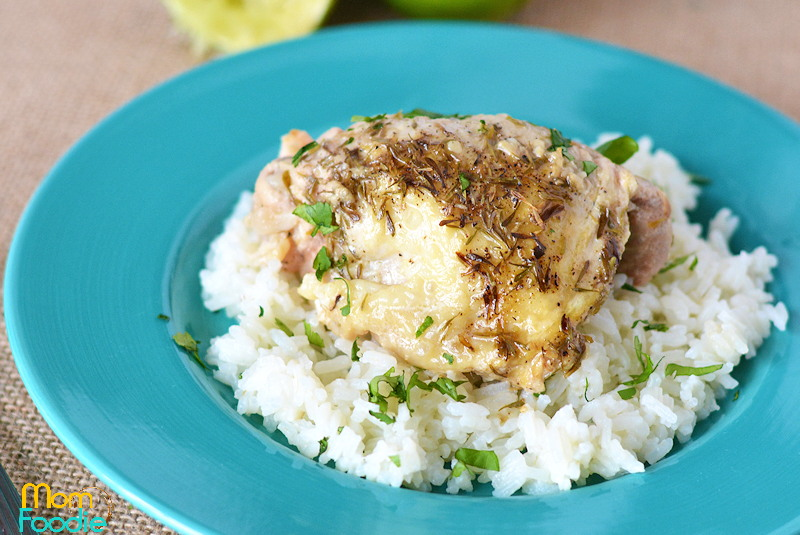 Garlic Lime Chicken - Crock Pot Chicken Thighs Recipe