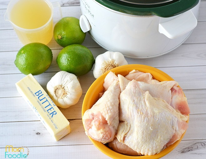 Garlic Lime Chicken Ingredients