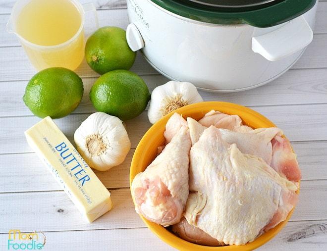Garlic Lime Chicken Ingredients