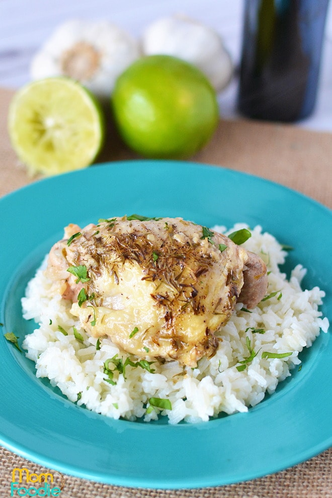 crockpot lime chicken