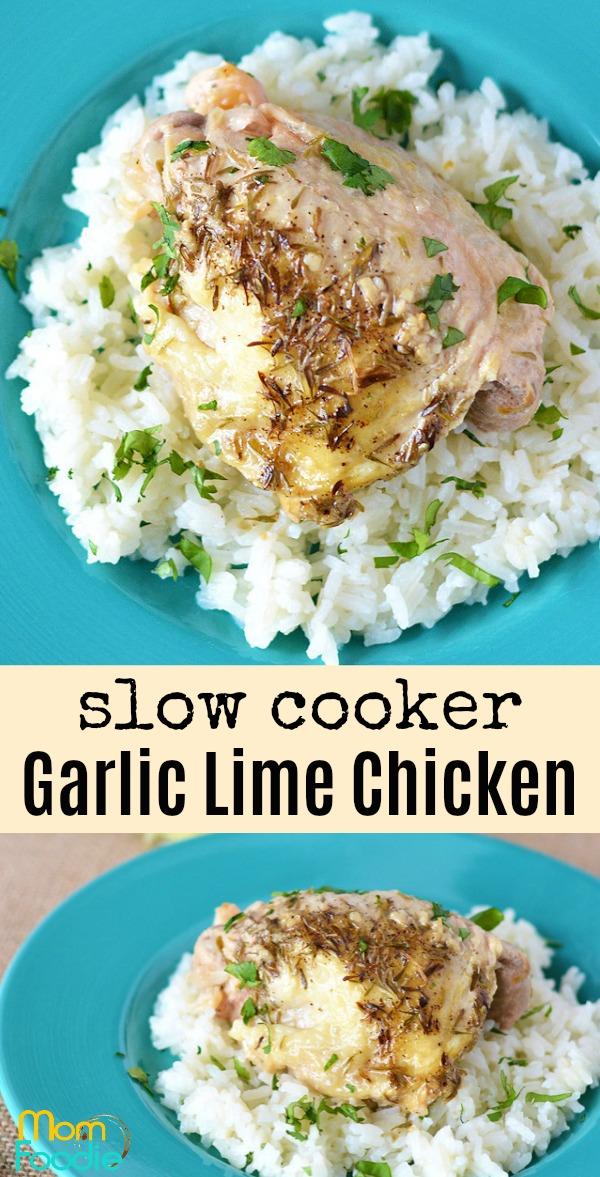 Garlic Lime Chicken slow cooker