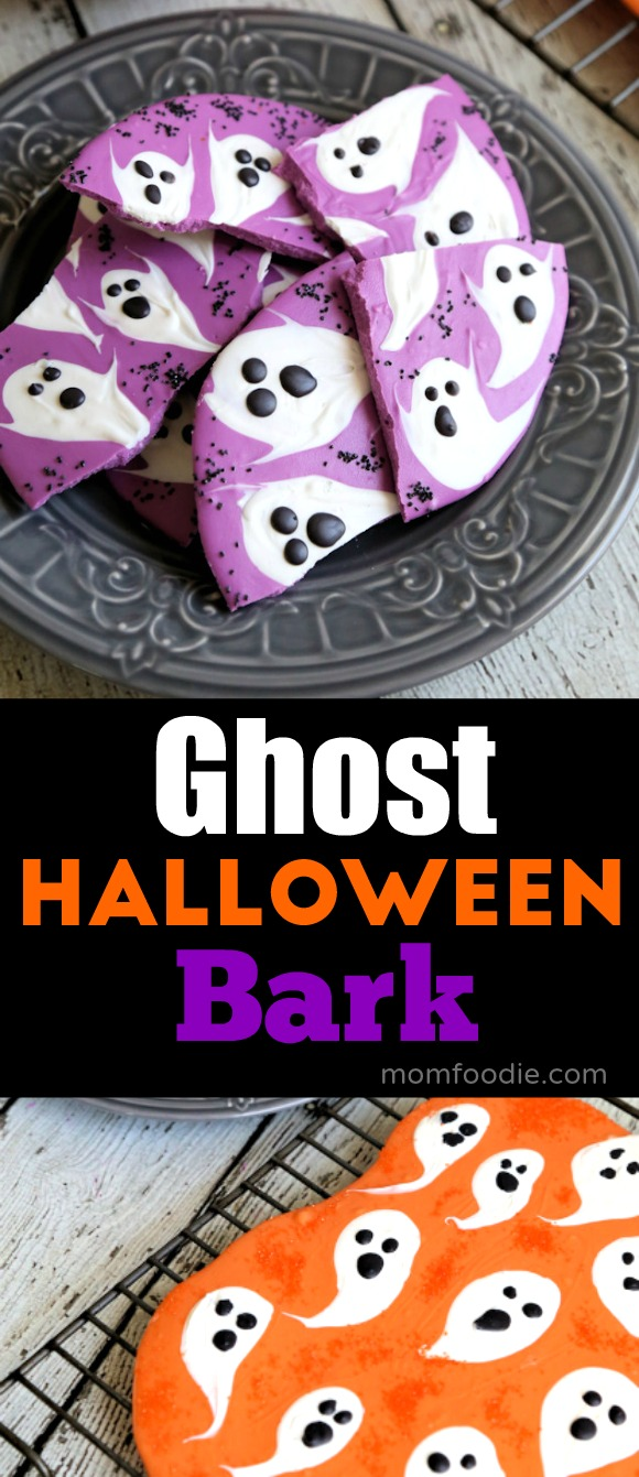 Ghost Halloween Bark