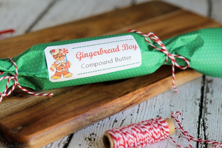 Gingerbread Boy Compound Butter
