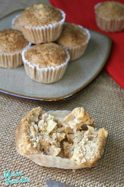 Gluten Free Apple Oatmeal Muffins