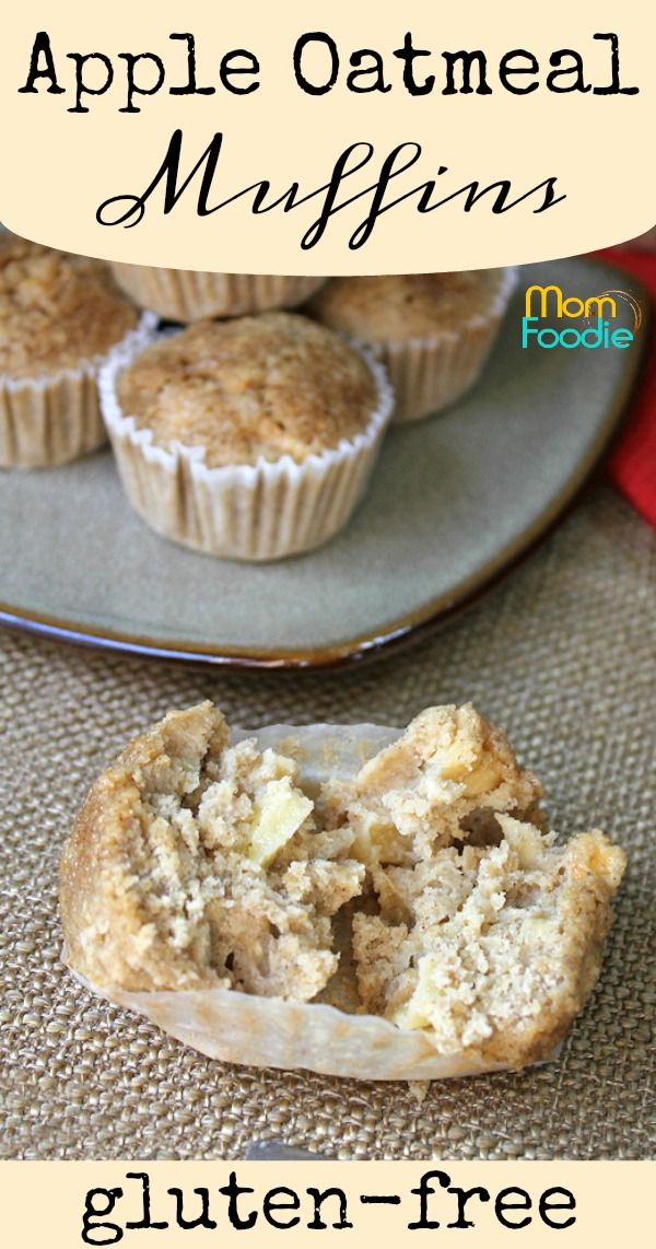 Gluten Free Apple Oatmeal Muffins Pinterest